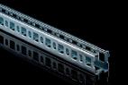 KBL-PSM Multifix Profilschienen verzahnt Offene Profilseite, Flanken eingerollt für hohe Steifigkeit, 5 mm...
