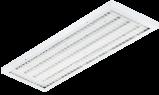 LED Sporthallen-Anbauleuchte, ballwurfsicher