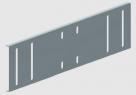 WKB 110 Verbinder 110 mm Stahlblech, Sendzimirverzinkt