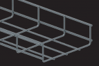 GBL 35 / 60 Wire Mesh Cable Trays with 50 x 100 mm Grid