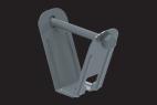 KBL-DBT Deckenbügel für Trapezblechdecken für die Befestigung der Kabelbahnen an...