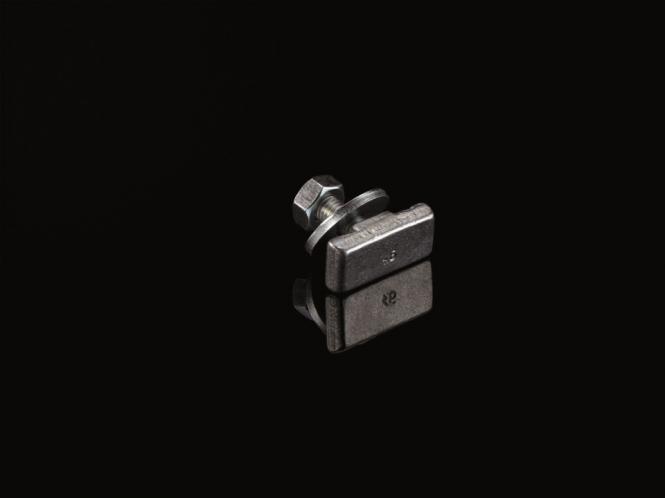 Anker-Schraubengarnitur M10x25 U-Schreibe, Mutter, VE: 25 Stahl, Galvanisiert
