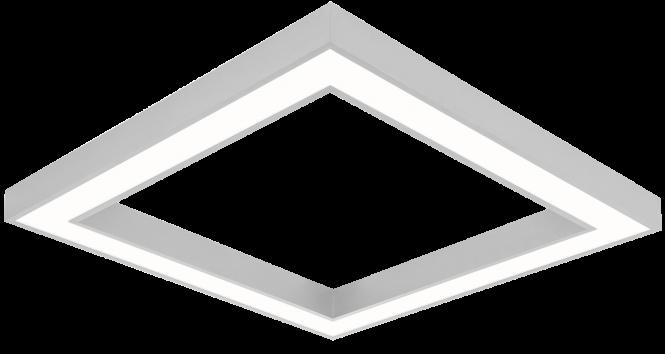 LED Quadratleuchte