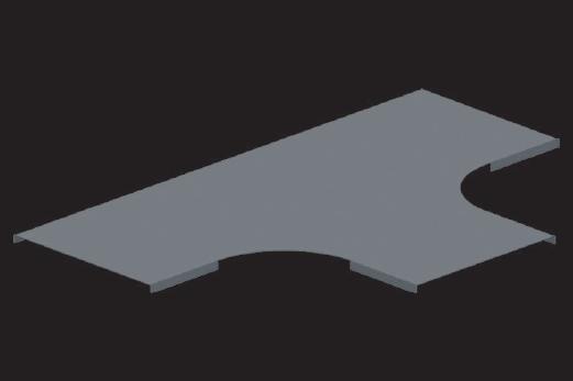 KBL-DT Deckel Radius: 100 mm, für T-Stücke