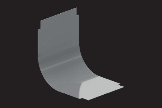 KBL-DAU 90° Deckel Für Bögen aufwärts 90°