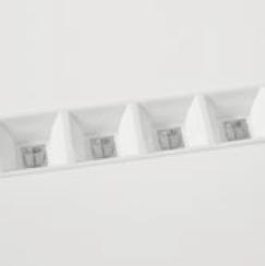 TRENDLIGHT Einlegepanelleuchte mit DAISY-Optik UGR <16