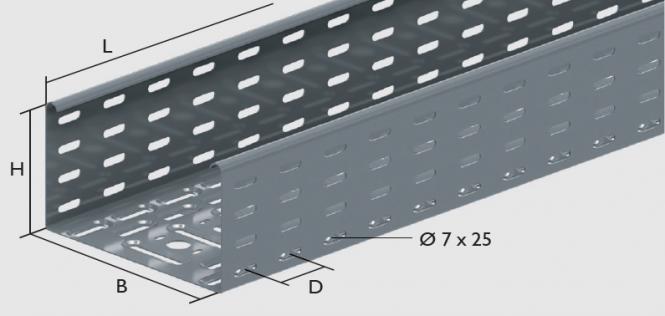 WKB 110 Weitspannkabelbahnen Länge: 6000 mm