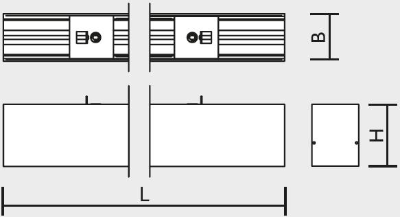 LED Modulares Aluminium-Profilsystem