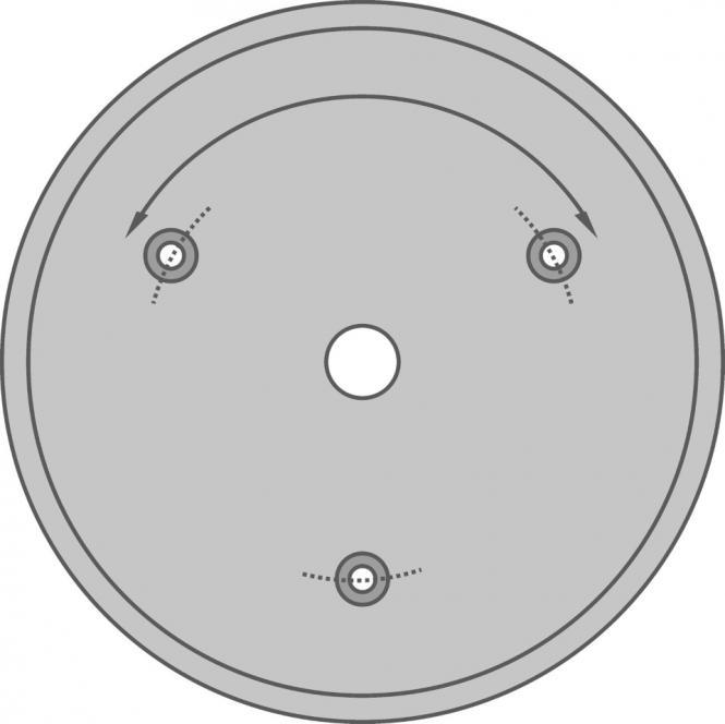 LED Wannenleuchte, Hochvolt IP40, rund, 300-480 mm Duchm. 4000 k, 8-48 Watt, 720-4400 lm
