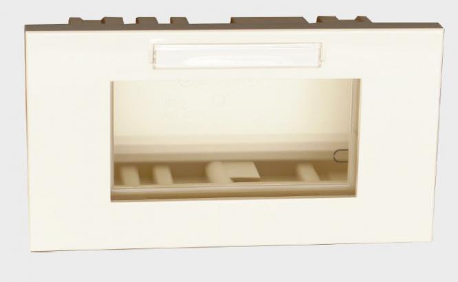 Montage-, Abdeckrahmen inklusive Dose, 2 od.3-fach, für Brüstungskanal BR u. BRS-F