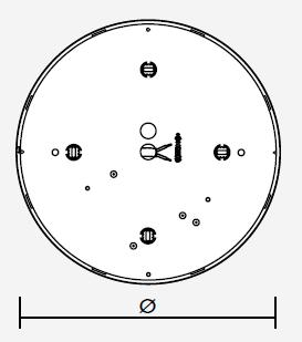 TRENDLIGHT Anbauleuchte Mikroprisma