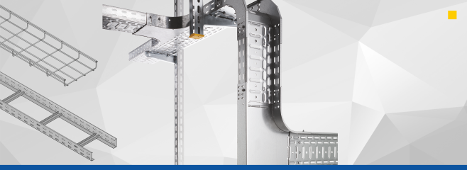 Cable Trays<br>Wire Mesh Cable Trays<br>Cable Ladders