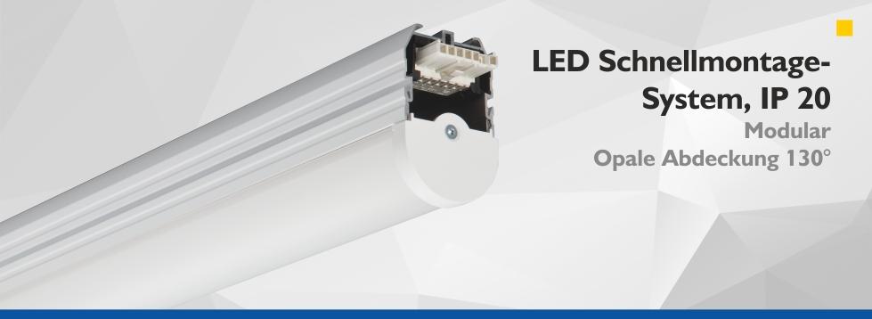 LED Schnellmontage-System, IP20